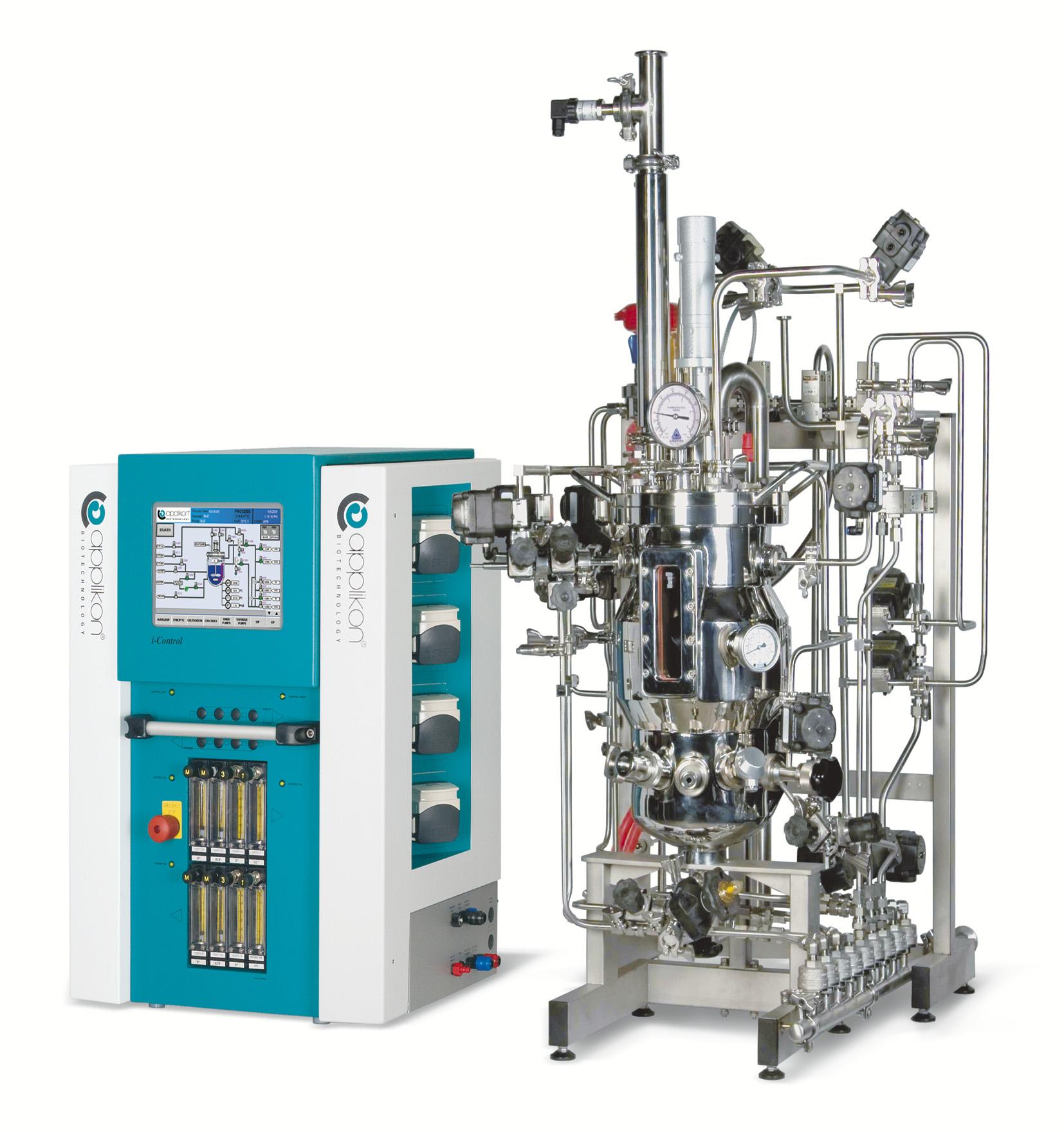 Škálovatelný ovládací systém pro bioreaktory