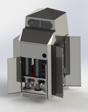 Vysokokapacitní stroj pro temperaci