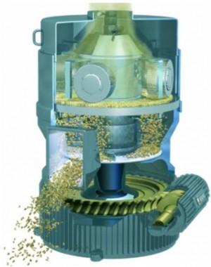 Peletovací lis pro zpracování biomasy