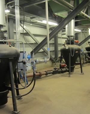 Pneumatické dopravníky pro průmyslové kotle na biomasu