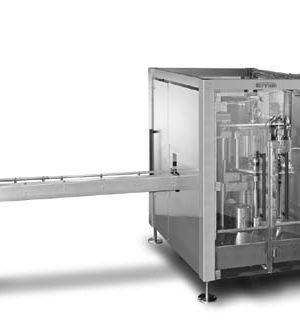 Nízkorychlostní stroj na uzavírání plechovek pro průmyslovou výrobu nápojů