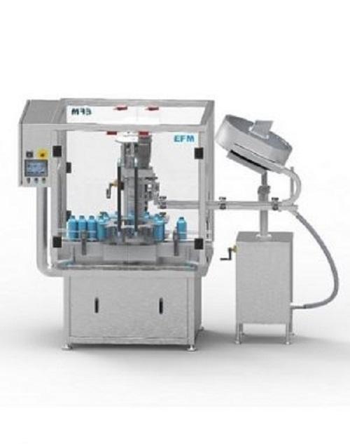 Jednohlavový stroj na uzavírání lahví