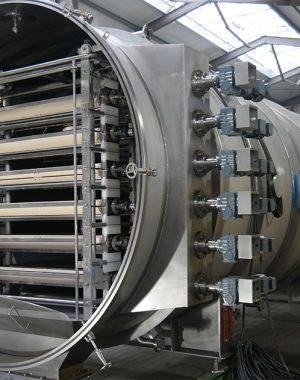 Pásový lyofilizátor pro nepřetržitý provoz