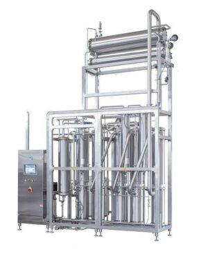 Systém pro destilaci vody